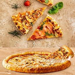 Pendirli Halə Pizza Toyuq ilə