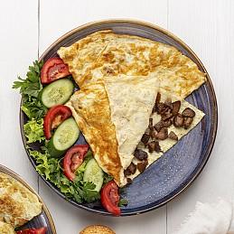 Qovurmalı omlet