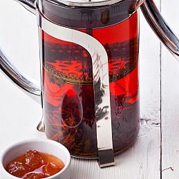 Азербайджанскй чай с шафраном