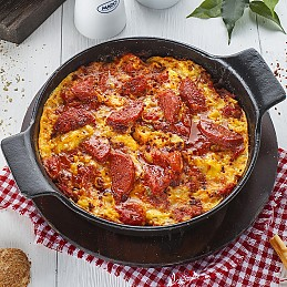 Menemen with Sujouk